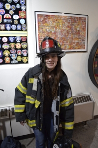 Me in firefighter gear