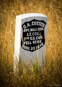 Custer's Headstone